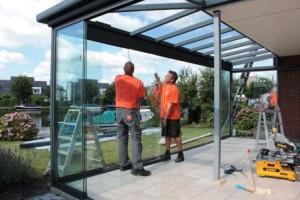 bouwen met interieurglas