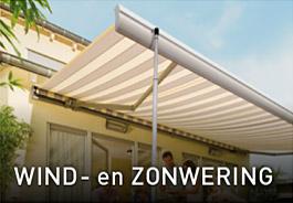 Wind-en Zonwering