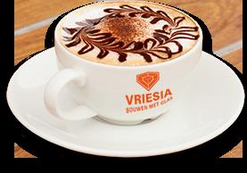 De koffie staat voor u klaar