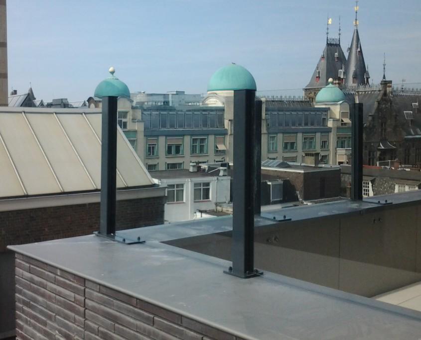 Windscherm Op Balkon Te Den Haag