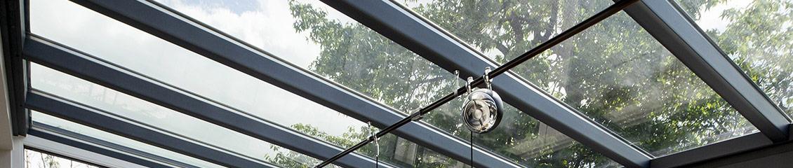 Vriesia bouwen met glas ook voor onderhoud