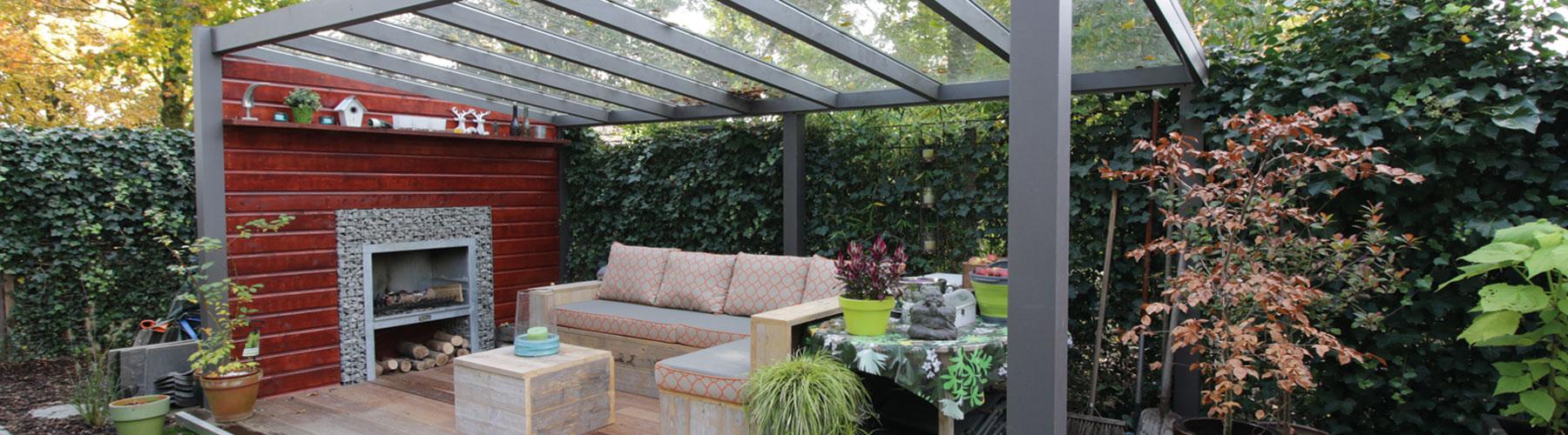 Verasol Lounge Set Antraciet.1800x500x1